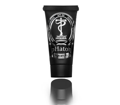 pHaton™ солнцезащитный крем для татуировки SPF 60, 20 мл
